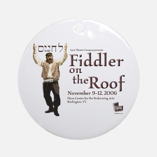 Lyric Fiddler '06 Ornament (Round)