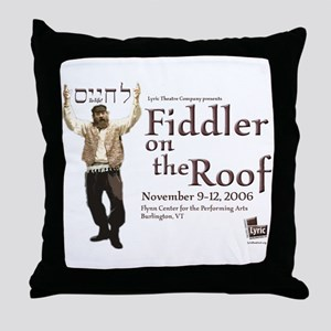 Lyric Fiddler '06 Throw Pillow