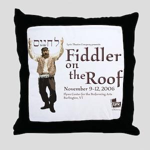 Lyric Fiddler '06 Throw Pillow