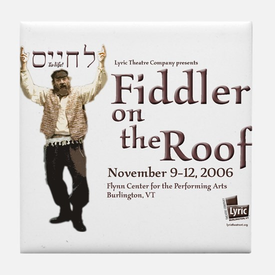 Lyric Fiddler '06 Tile Coaster