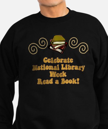 National Library Week Sweatshirt (dark)