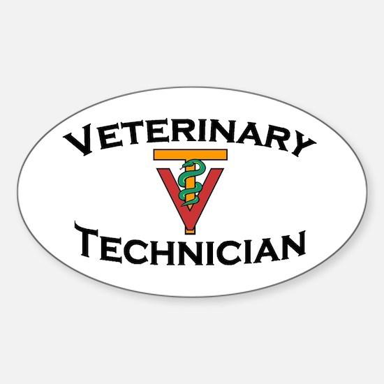 Oval Sticker - red logo