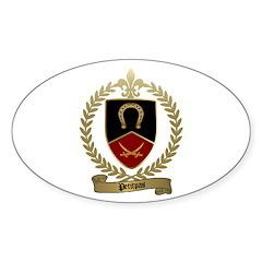 PETITPAS Family Crest Oval Decal
