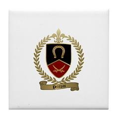 PETITPAS Family Crest Tile Coaster