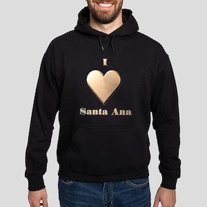 I Love Santa Ana #8 Hoodie (dark)