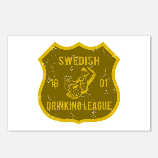 Swedish Drinking League Postcards (Package of 8)