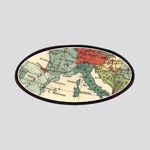European Map Antique Vintage Patch