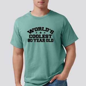 World's Coolest 80 Year Old T-Shirt