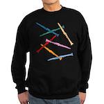 Colorful Clarinets Sweatshirt (dark)