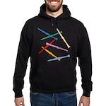 Colorful Clarinets Hoodie (dark)
