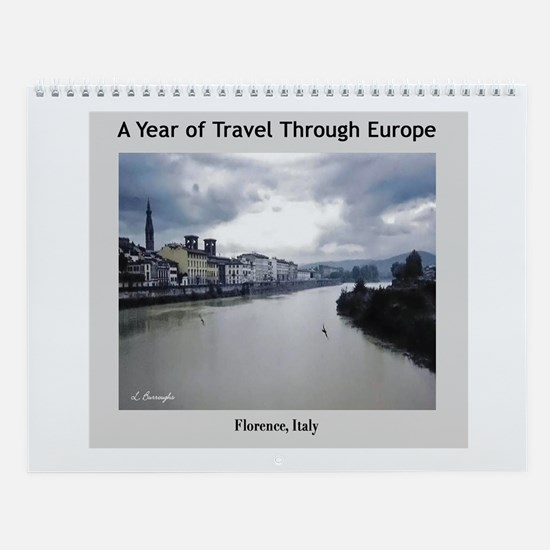 A Year of Travel Wall Calendar