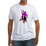 Latin Dancer #2 Fitted T-Shirt