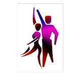 Latin Dancer #2 Postcards (Package of 8)