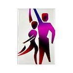 Latin Dancer #2 Rectangle Magnet (10 pack)