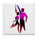 Latin Dancer #2 Tile Coaster