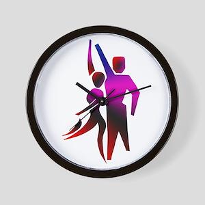 Latin Dancer #2 Wall Clock