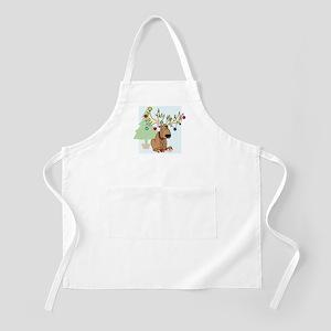 Christmas Reindeer BBQ Apron