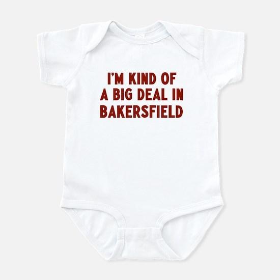 Big Deal in Bakersfield Infant Bodysuit