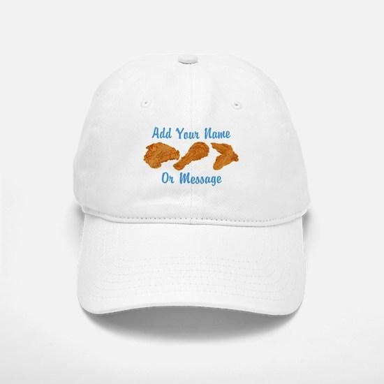 PERSONALIZED Fried Chicken Baseball Baseball Baseball Cap