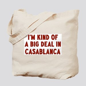 Big Deal in Casablanca Tote Bag