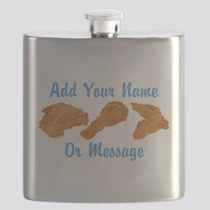 PERSONALIZED Fried Chicken Flask
