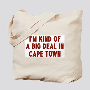 Big Deal in Cape Town Tote Bag