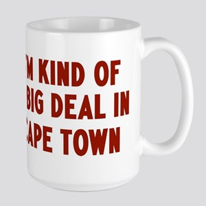 Big Deal in Cape Town Large Mug