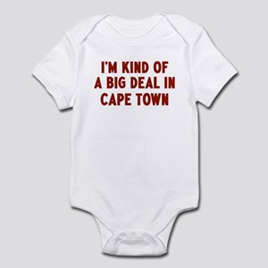 Big Deal in Cape Town Infant Bodysuit