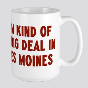 Big Deal in Des Moines Large Mug