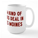 Des moines Large Mugs (15 oz)