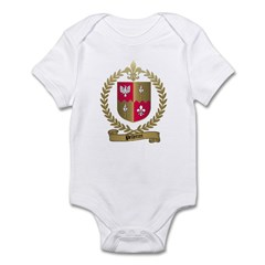PELLETRET Family Crest Infant Creeper