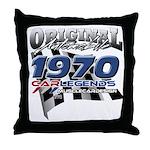 1970 carlegends Throw Pillow