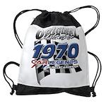 1970 carlegends Drawstring Bag
