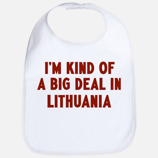 Big Deal in Lithuania Bib
