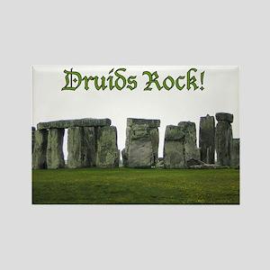 Druid Stonehenge Rectangle Magnet