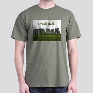 Druid Stonehenge Dark T-Shirt