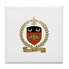 ORION Family Crest Tile Coaster