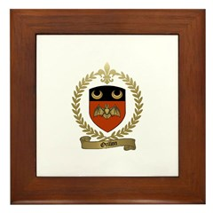 ORILLON Family Crest Framed Tile