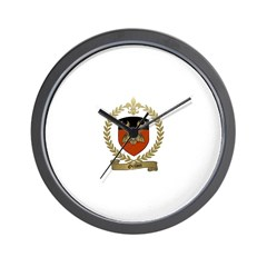 ORILLON Family Crest Wall Clock