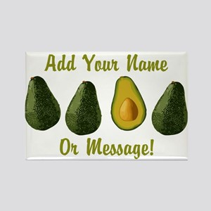 PERSONALIZED Avocados Graphic Magnets