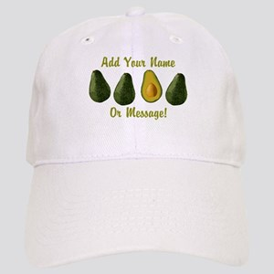 PERSONALIZED Avocados Graphic Baseball Cap