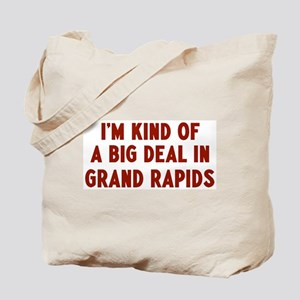 Big Deal in Grand Rapids Tote Bag