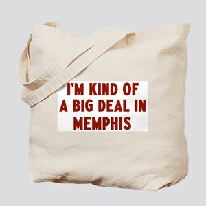 Big Deal in Memphis Tote Bag