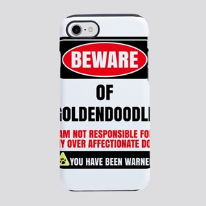 Beware Of Goldendoodle I Am iPhone 8/7 Tough Case