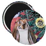 Susie Rabbit's Christmas Magnet