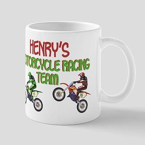 Henry's Motorcycle Racing Mug