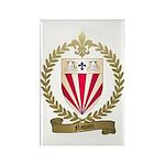 NAQUIN Family Crest Rectangle Magnet (100 pack)