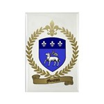 MOUTON Family Crest Rectangle Magnet (100 pack)
