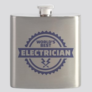 World's best electrician Flask