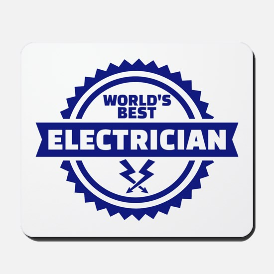 World's best electrician Mousepad